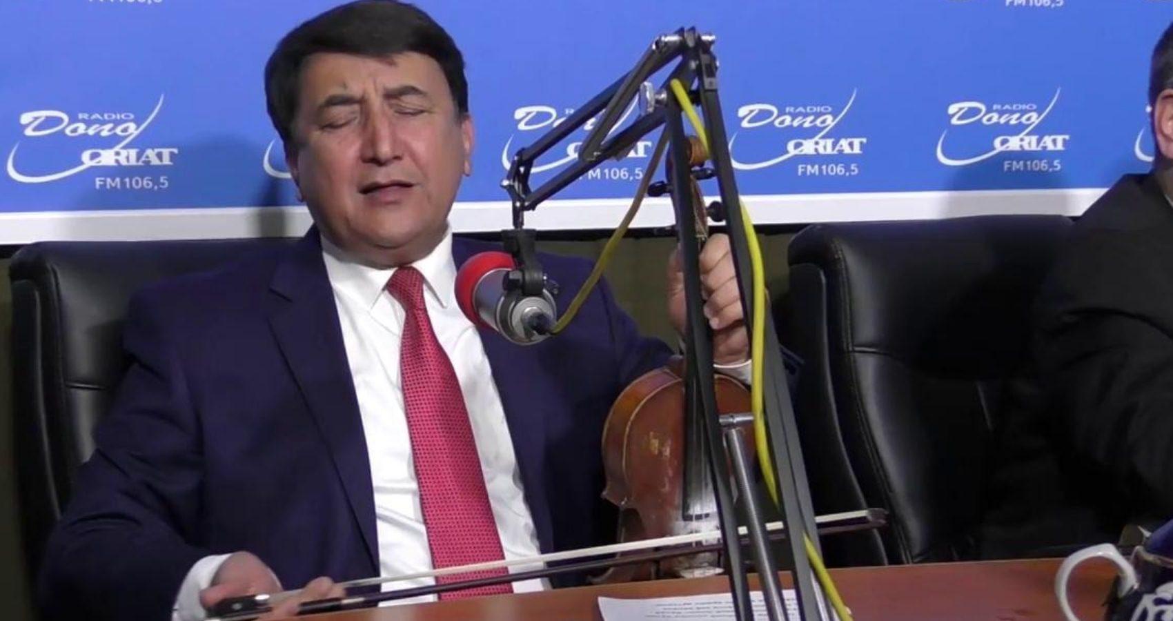 Dastur mehmoni Ahmadjon Dadayev