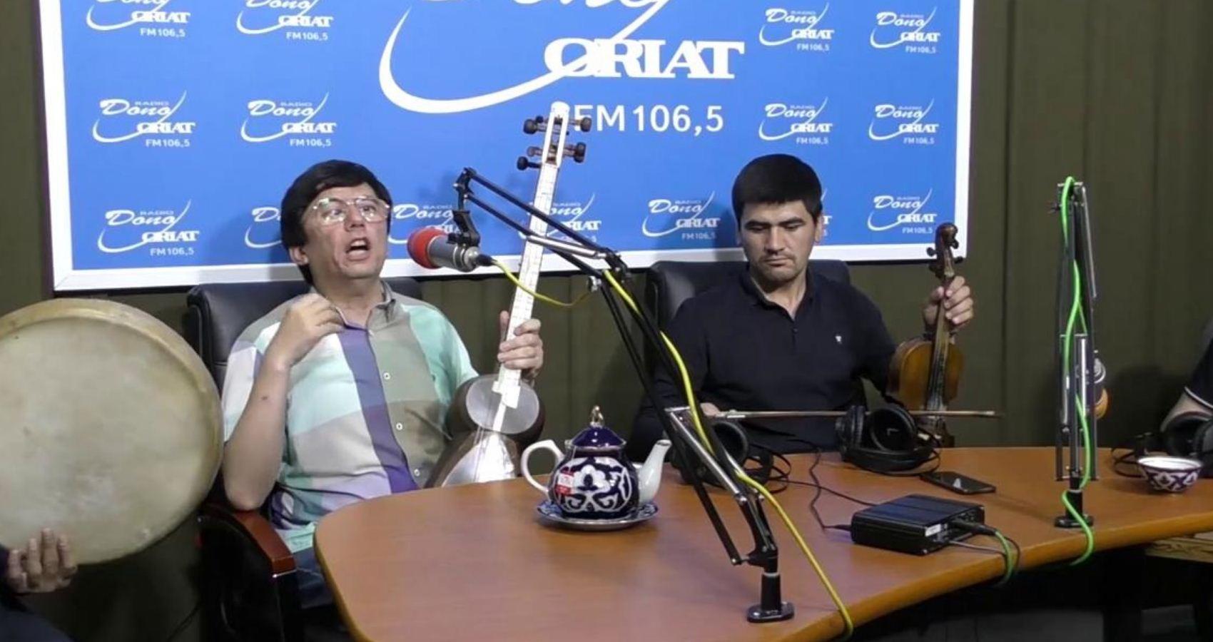 Dastur mehmoni Habibulla Shamsiyev