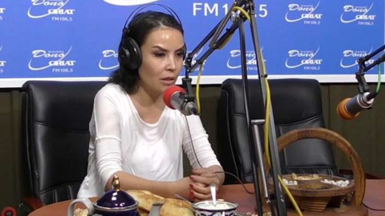 Dastur mehmoni Nigora Karimboyeva
